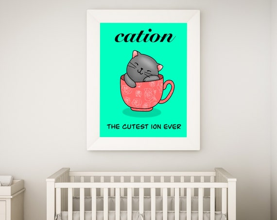 The Cutest Ion Ever (1 Cat) Printable Download