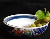 aritayaki salad bowl vintage