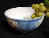 Japanese bowl arita beautiful flowers printed vintage