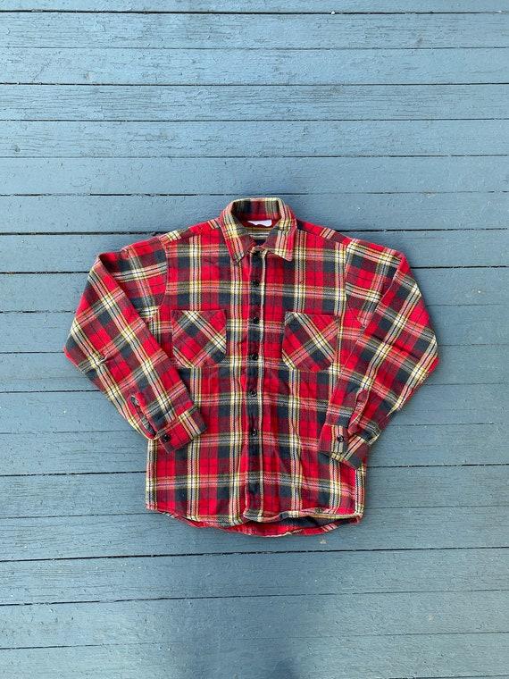 Vintage 60s/70s Sears Cotton Flannel