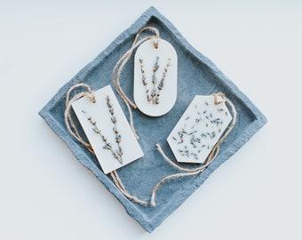Aroma Block - Natural Home Fragrance - Bergamot & Patchouli Embrace - Lavender