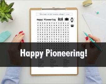 Pioneer Gift Idea   JW Gift   Pioneer Service School   Pioneer Gift Item   Instant Download   Printable