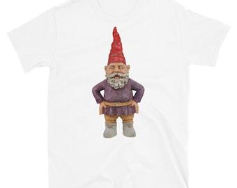 Mr. Merlin Garden Gnome Short-Sleeve Unisex T-Shirt