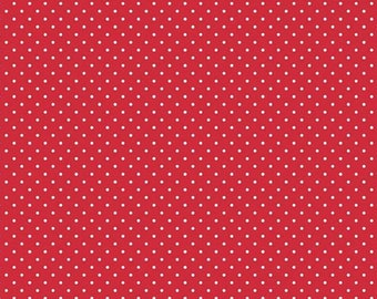 Made to Order - Handmade Medical Surgical Scrub Cap - Red Polka Dots Small