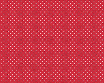 Handmade 100% Cotton Cloth Face Mask Reusable, Breathable Airborne Particle Protection - Red Polka Dots