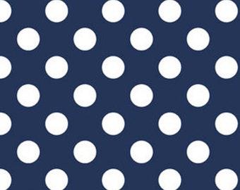 Made to Order - Handmade Medical Surgical Scrub Cap - Blue Polka Dots
