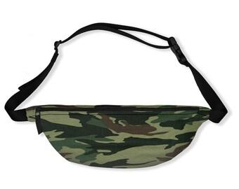 Fanny Pack   Fashion Belt Bag   Waist Belt Bag   Custom Design Bag   Bum Bag   Hip Pack   Crossbody Bag   Hip Bag   Camouflage Fanny Pack