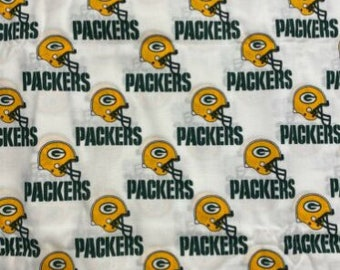 Made to Order - Handmade Medical Surgical Scrub Cap - Green Bay Packers
