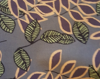 Made to Order - Handmade Medical Surgical Scrub Cap - Purple Floral Vine