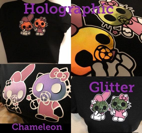 My melody and balloons crop top shirt pastel goth Valentine\u2019s Day kawaii hello kitty lolita,harajuku