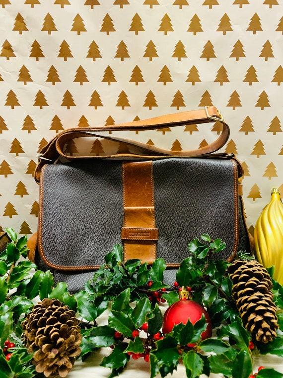 Vintage Valentino Crossbody Leather Handbag