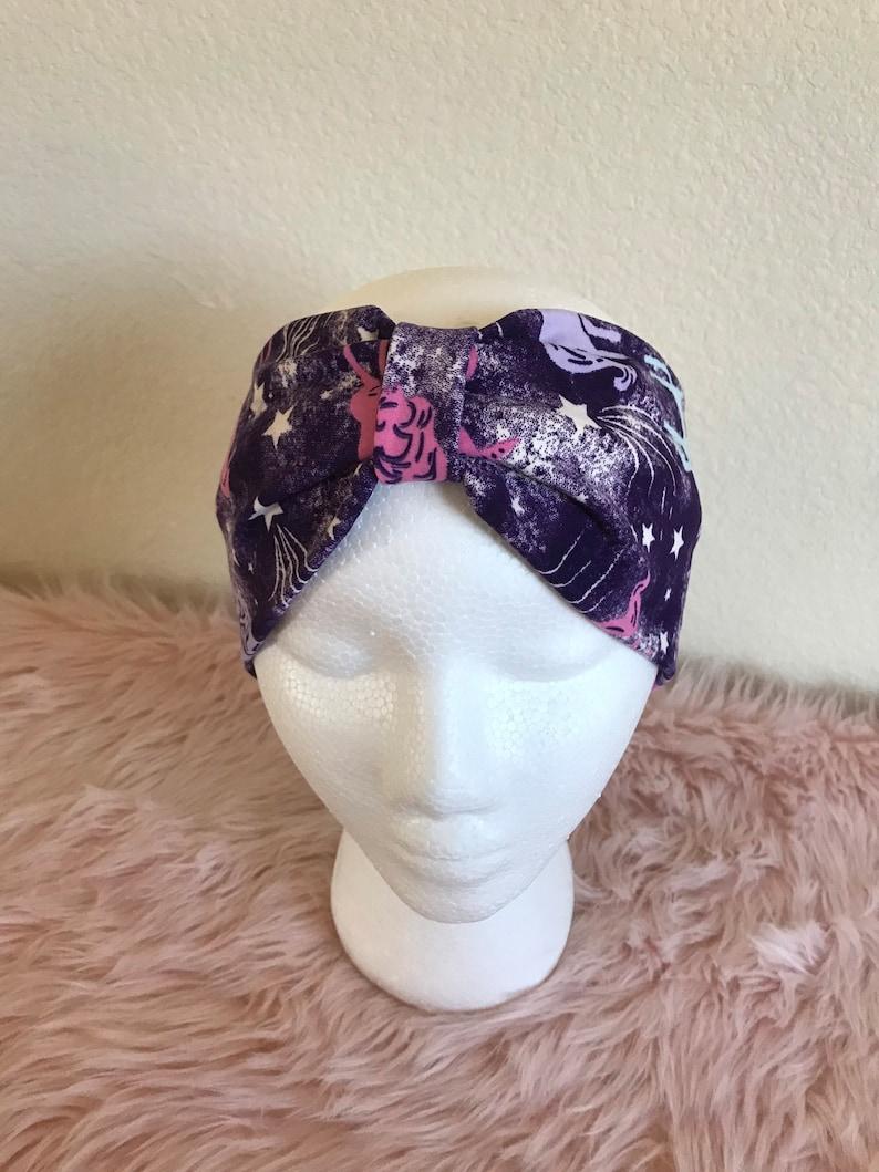 Unicorn Knit Headband