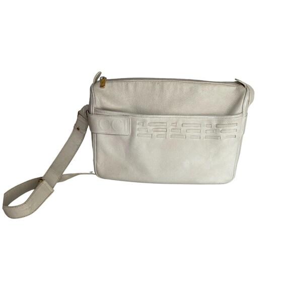 Gucci Retro GUCCI White Leather Handbag - image 4
