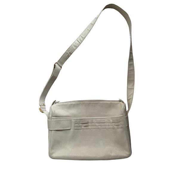 Gucci Retro GUCCI White Leather Handbag - image 2
