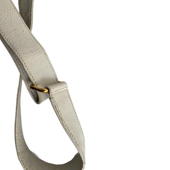 Gucci Retro GUCCI White Leather Handbag - image 7