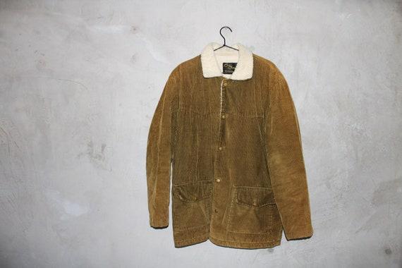 Corduroy Fleece Retro Jacket