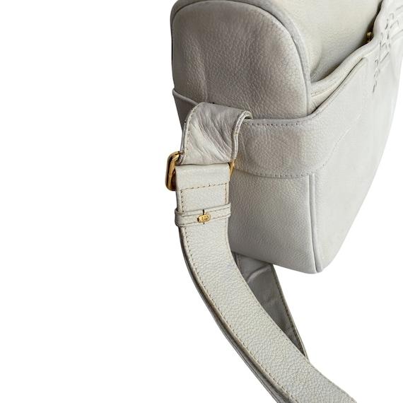 Gucci Retro GUCCI White Leather Handbag - image 6