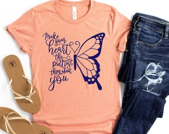 Butterflies t-shirt butterfly gifts for her Unisex T-shirt butterfly tee gift for her