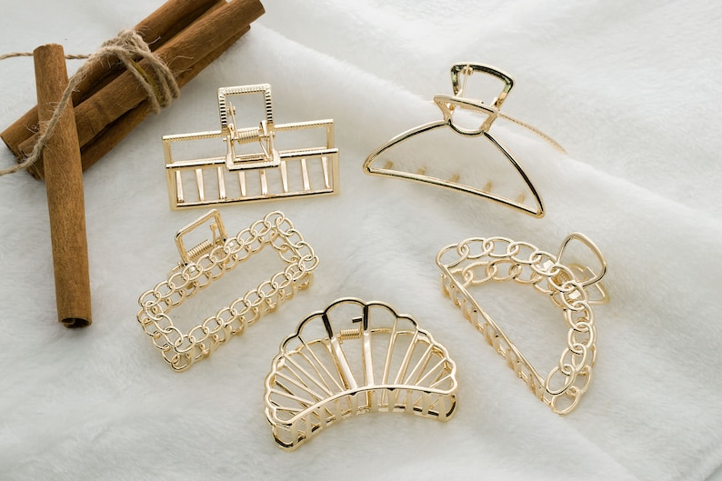 Metal hair clip, Zinc alloy, Hair crab, Hair claw, Big hair claw, Hairslide, Hair barrette, Hair accessories