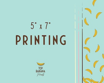 "PRINTING SERVICES | 5 x 7"" Flat Card Printing"