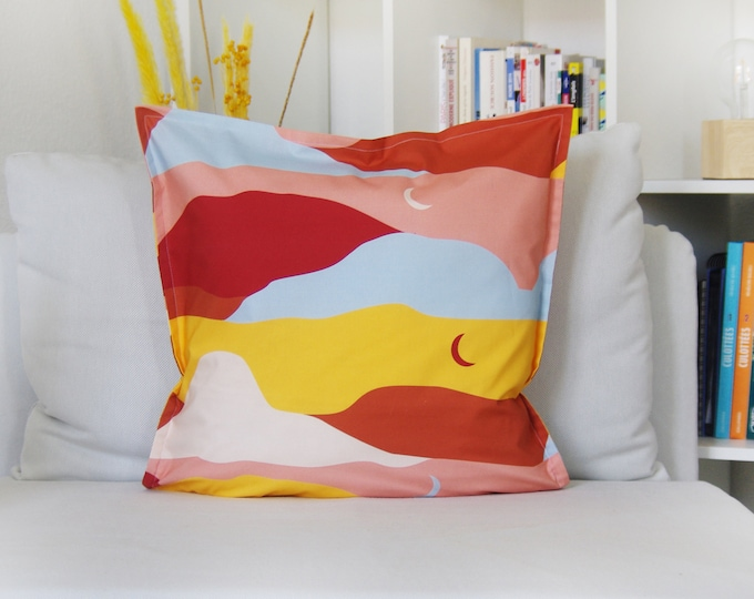Cushion cover, Dune, 100% Cotton, Made in France