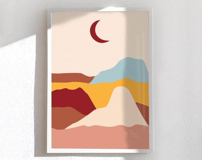 Affiche moyenne et grande, Dune-Lune