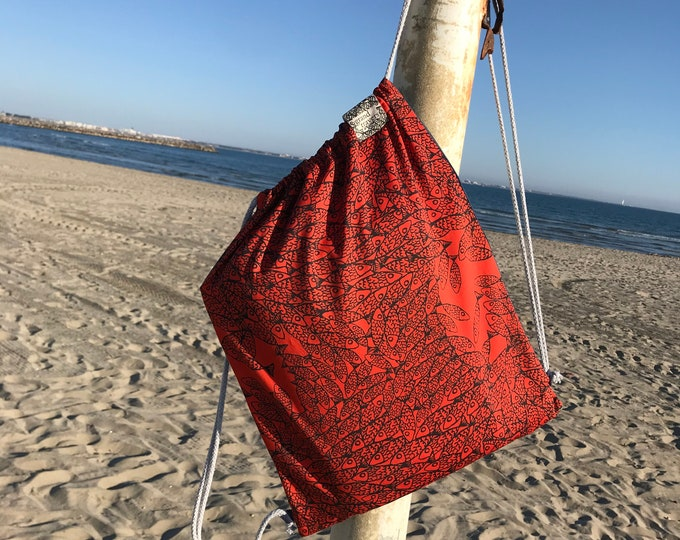 Petit sac à dos fourre-tout - Made in France