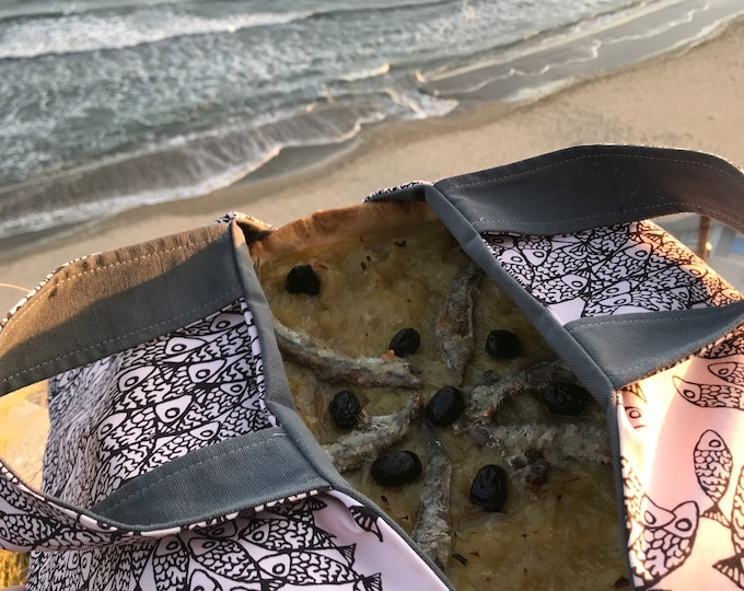 Sac à tarte en coton- Made in France
