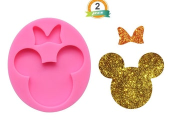 Minnie Mouse Keychain Silicone Mold