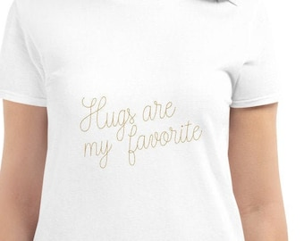 Women's short sleeve t-shirt, soft and comfy