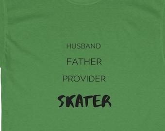 Men's Short sleeve T-shirt. Skater Dad!