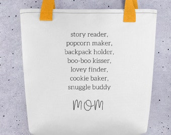 Mom's Tote bag Gift for Mom Mothers Day