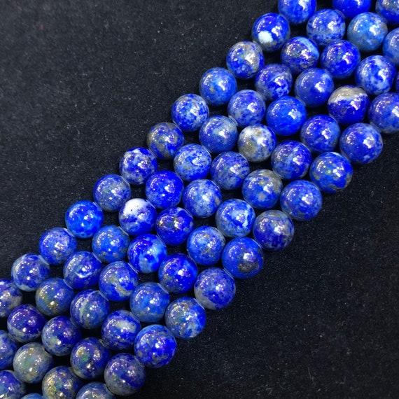 Natural Beads Grade A Lapis Lazuli Beads 8mm 12mm 10mm Lazurite Loose Beads Strand 14mm 6mm Blue Lapis Round Beads