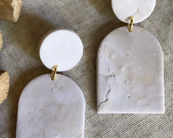The Bridal Collection - Cabo - Clay Earrings