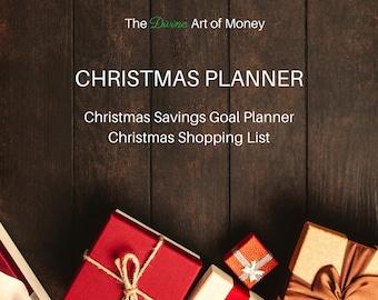 Printable Christmas Planner, Christmas Planner Printables, PDF Printable Christmas Planner, US Letter size, Editable. Fillable