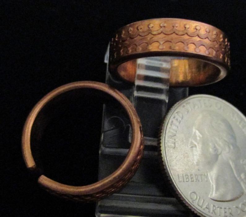 Copper Adjustable Ring