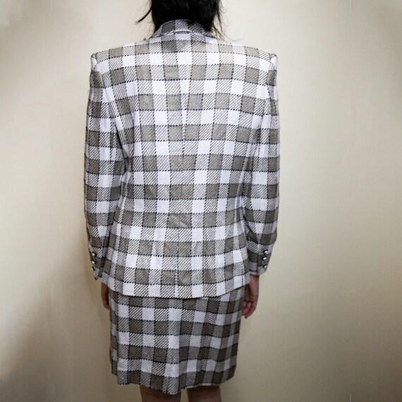 Clueless Plaid Suit Set - image 3