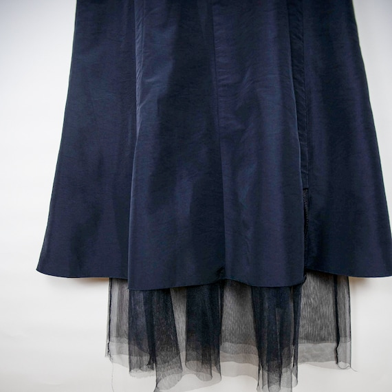 High Waisted Belted Athletic Tulle Skirt - image 4