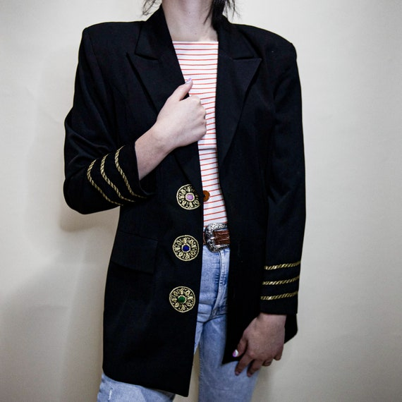 Oversized Nautical Blazer