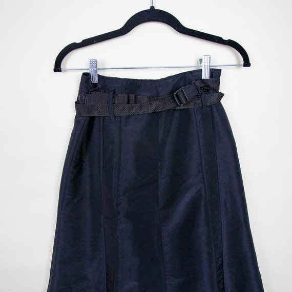 High Waisted Belted Athletic Tulle Skirt - image 3