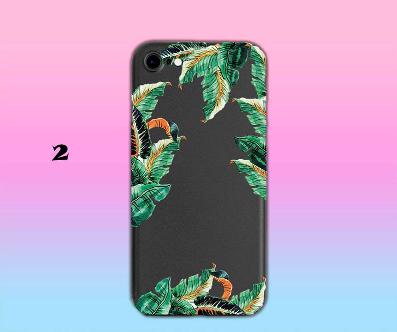Black Silicone Case iPhone 8 Plus Cute Case for Girls Flexible Soft Slim Fit Full Shell Phone Case with Floral Pattern for Apple iPhone
