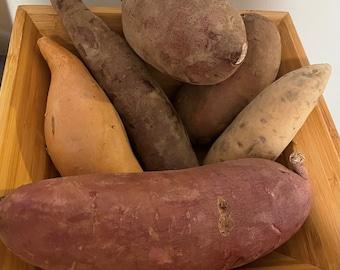 Variety Naturally Grown Sweet Potato Box, 4lb
