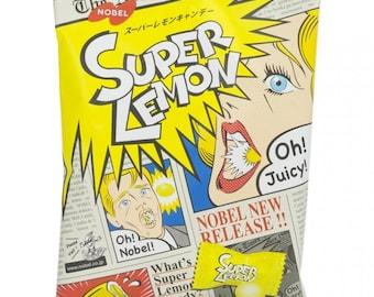 Super Lemon - Sour Hard Candies Japanese Asian Anime Candy - Soooo Good!