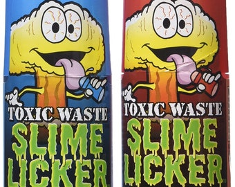 Slime Licker Lickers / 2 Flavors To Chose - TikTok favorite - Very Hard To Find / Don't pay higher prices - This is the rest of my stock