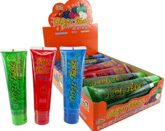 Kidsmania Ooze Tube Candy / Very Hard to find - Popular on Tik Tok & YouTube - 3 Flavors to chose from