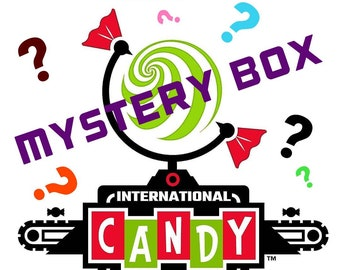 Mystery Box / Candy & Treat Box / Almost 1 Pound of Sweet Goodness - The very BEST and lowest price on Etsy!!