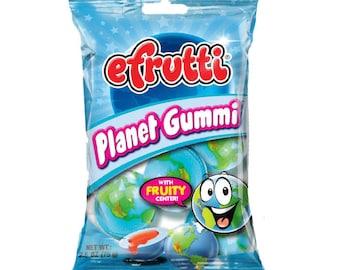 Planet Gummi Trolli E-Frutti / Very Limited Stock - Hard to find - You Get 1 Bag of Gummies (4 Pieces) / Tik Tok TikTok