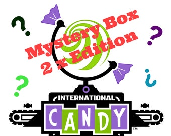 Mystery Candy Box Version 2 / Almost 2 Pounds, not 1..... but 2 pounds of Sweet Goodness / Lots o' Candy to be enjoyed