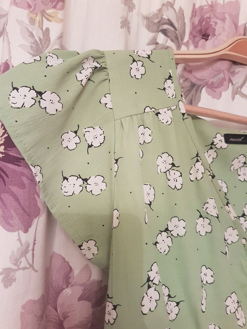 Ladies t-dress summer floral