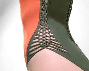 sustainable one piece swimsuit